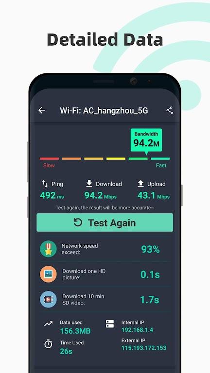 Internet speed test Meter- SpeedTest Master  poster 1