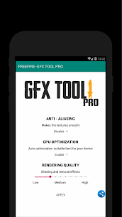 60 FPS Booster – GFX Tool PRO FOR FREE FIRE (FREE) 4