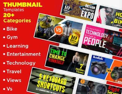 Thumbnail Maker – Create Banners & Channel Art 1