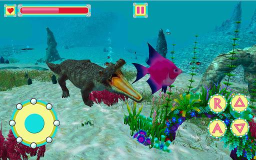 Underwater Crocodile Simulator u2013 Crocodile Games 1.3 screenshots 2