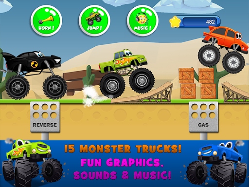 Monster Trucks Game for Kids 2 2.7.3 Screenshots 13