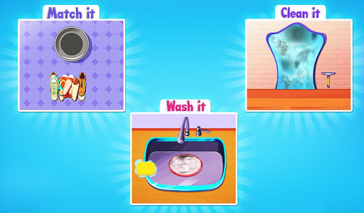 Big Home Cleanup and Wash : House Cleaning Game apkpoly screenshots 8