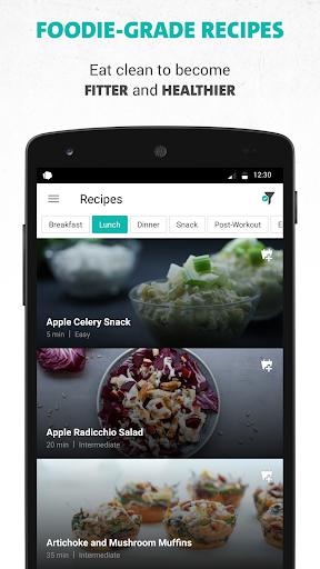 Freeletics Nutrition  Screenshots 1