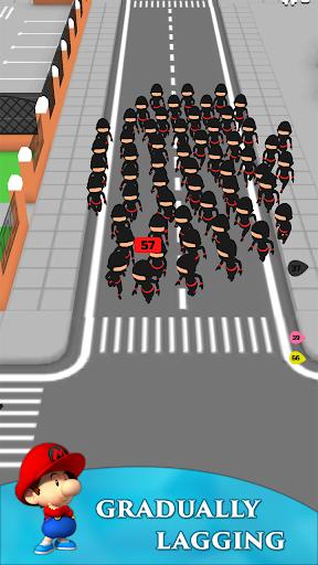 Crowd Run 3D : Multiplayer  screenshots 2