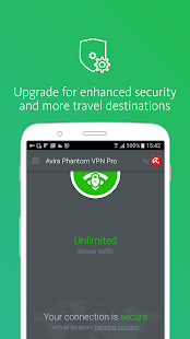 Avira Phantom VPN: Free & Fast VPN Client & Proxy Screenshot