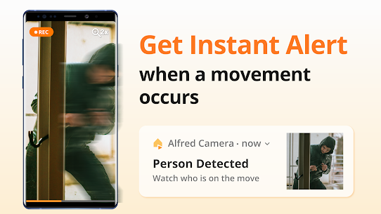 Alfred Home Security Camera, Baby Monitor, Webcam 2