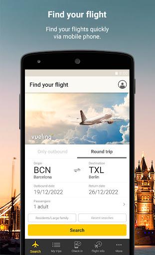Vueling - Cheap Flights apktram screenshots 1
