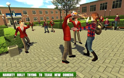 High School Gangster Bully Fights Karate Girl Game 2.0.0 screenshots 5