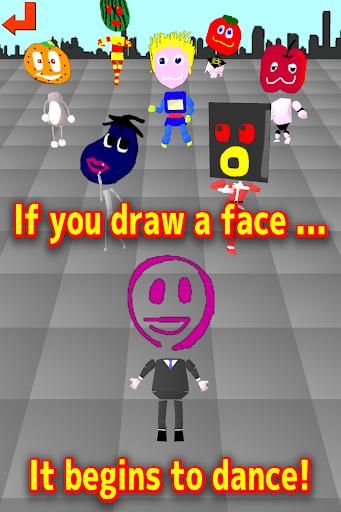 Draw->Dance! Drawing the face 1.1 screenshots 8
