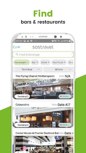 sostravel - For all your travel needs 4.13.9 Screenshots 5