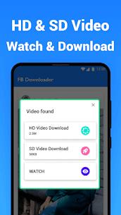 Video Downloader for Facebook – Free Video Saver 3