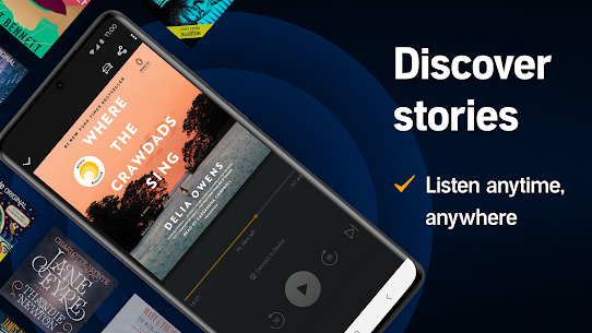 Audible Mod Apk 3.12.0 Premium Unlocked Books For Android Download 5