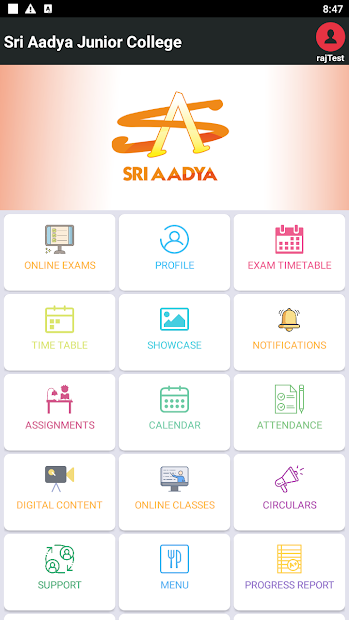 Sri Aadya Junior College App screenshot 3