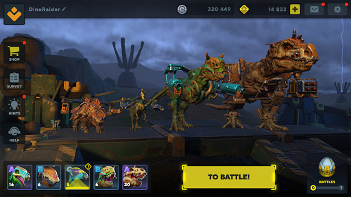 Dino Squad: TPS Dinosaur Shooter  screenshots 12