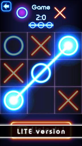 Tic Tac Toe glow - Free Puzzle Game 3.1 screenshots 10