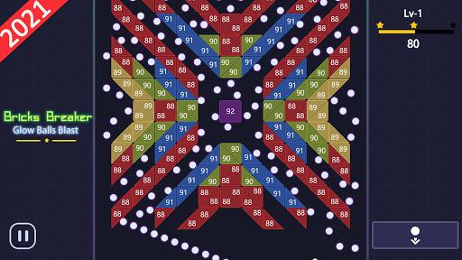 Bricks Breakeru00a0- Glow Ballsu00a0Blast screenshots 7