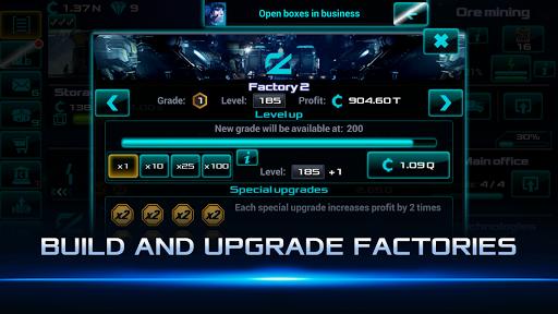 Idle Space Business Tycoon Apkfinish screenshots 2