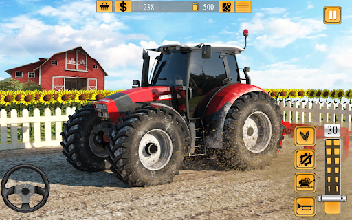 Indian Farmer Tractor Driving - Tractor Game 2020  screenshots 5