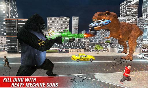 Monster Dino Vs King Kong-City Rampage Simulator 1.0.3 screenshots 5