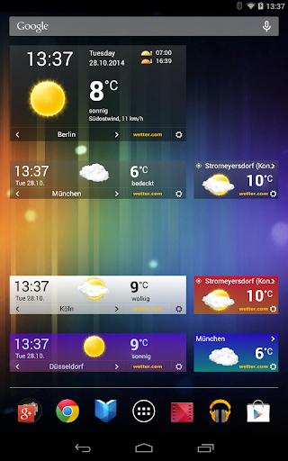 wetter.com - Weather and Radar 2.43.5 Screenshots 12