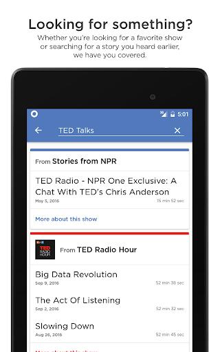 NPR One 1.9.9.2 Screenshots 13