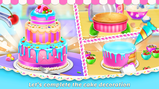 Sweet Bakery Chef Mania: Baking Games For Girls 2.8 Screenshots 4