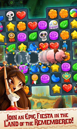 Sugar Smash: Book of Life - Free Match 3 Games. Apk 2