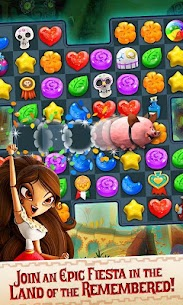 Sugar Smash: Book of Life – Free Match 3 Mod Apk (Infinite Lives + Money) 2