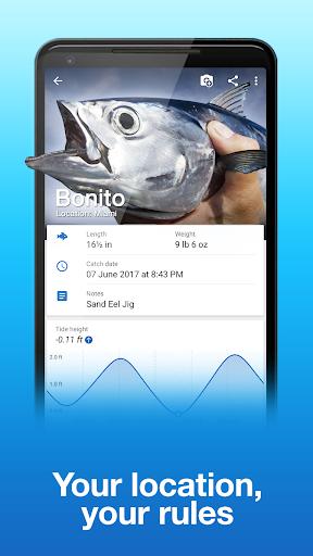 Fishing Points: GPS, Tides & Fishing Forecast modavailable screenshots 5