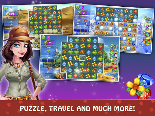 Magica Travel Agency - Match 3 Puzzle Game 1.2.9 screenshots 13