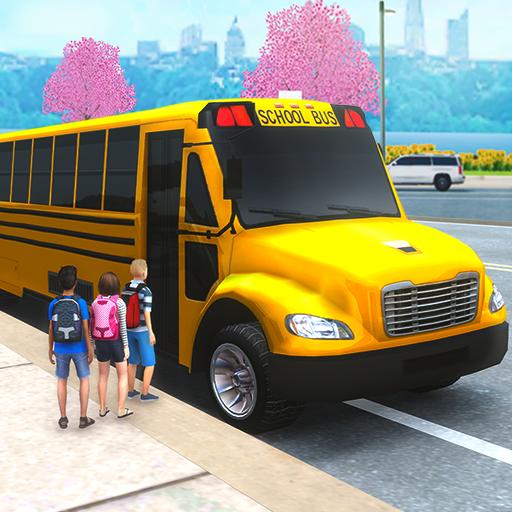 School Bus Simulator Driving