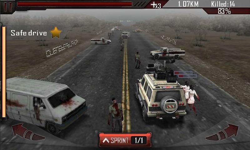 Zombie Roadkill 3D  poster 3