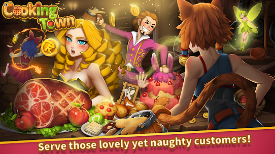 Cooking Town: Chef Restaurant Cooking Game Mod Apk 1.2.0 (Unlimited Diamonds) 2