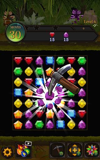 Secret Jungle Pop : Match 3 Jewels Puzzle Apkfinish screenshots 12