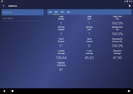 Darget - Realistic darts scoring
