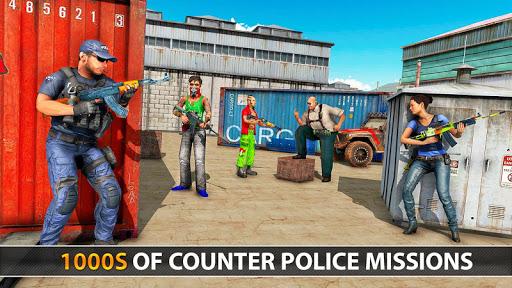 Police Counter Terrorist Shooting - FPS Strike War 6 screenshots 14