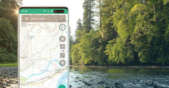 topographische karte deutschland app BackCountry Navigator XE: Outdoor GPS App (New) – Apps bei