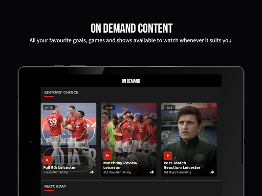 MUTV u2013 Manchester United TV 2.9.3 Screenshots 11