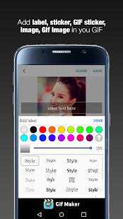 GIF Maker  - GIF Editor 1.2.3 Screenshots 5