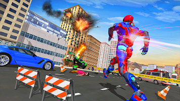Police Speed Hero Superhero Rescue Mission