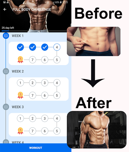 Home Workouts - No equipment - Lose Weight Trainer 18.61 Screenshots 3
