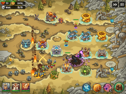 Empire Warriors TD Premium: Tower Defense Games Screenshot