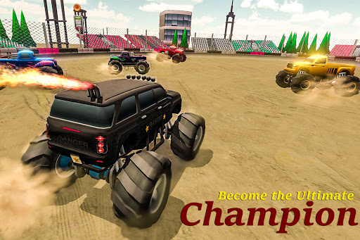 Demolition Derby 2021 - Monster Truck Destroyer modavailable screenshots 4