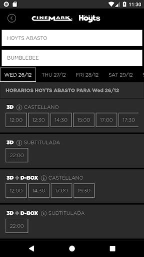 Cinemark Hoyts Argentina android2mod screenshots 2