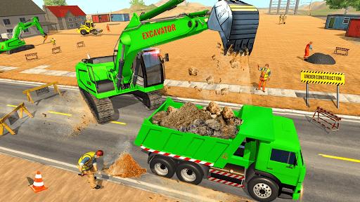 Heavy Excavator Simulator: Road Construction Games https screenshots 1