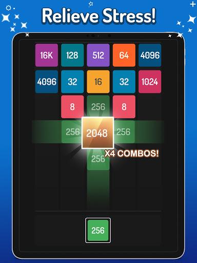 Merge Numbers - 2048 Blocks Puzzle Game screenshots 11