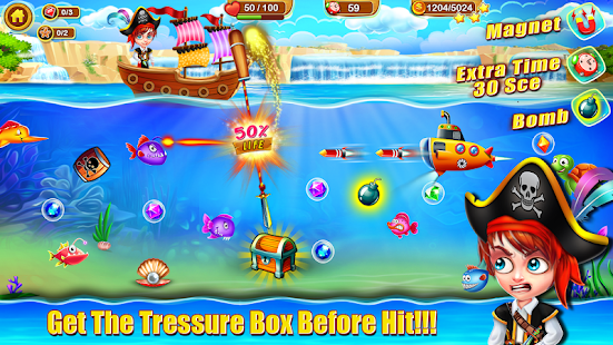 Crazy Fishing Dash - Fishing Games Screenshot