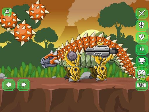 Robot Ankylosaurus Toy War screenshots 12