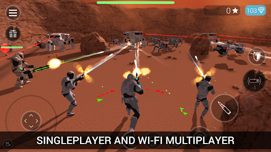 CyberSphere: SciFi Third Person Shooter Mod Apk (Unlocked) 2.14.32 1