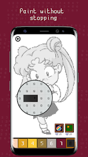 Usagi Pixel Puzzle (Anime Color Number)